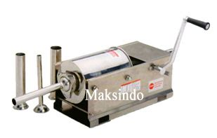Mesin Pembuat Sosis Atau Pencetak Sosis Manual Sausag Diskon jual mesin pembuat sosis cetak sosis stainless steel di bogor toko mesin maksindo bogor