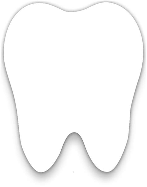 tooth templates free customer provided artwork 2 375 quot x 2 9 quot tooth shaped