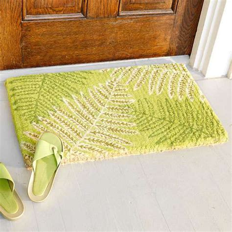 Summer Doormats dapper summer doormats 10 lovely porch additions for the coming season