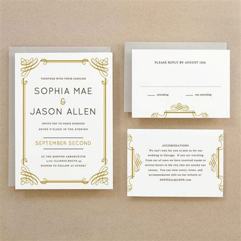 Printable Wedding Invitation Template Instant Download Classic Word Or Pages Mac Pc Wedding Invitation Templates For Mac