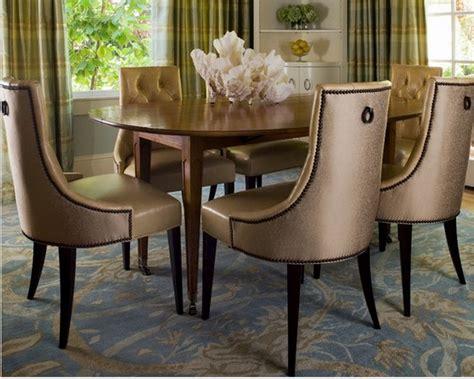 chaise pour salle a manger chaises en cuir pour salle a manger deco maison moderne