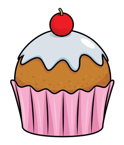 cupcake clipart free to use domain cupcake clip