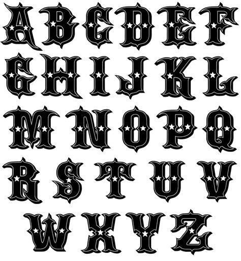 tattoo fonts download fonts font designs free 45252 borders