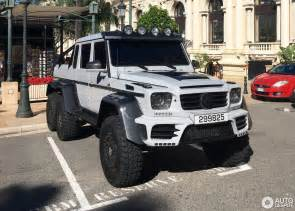 mercedes mansory gronos g 63 amg 6x6 19 may 2017