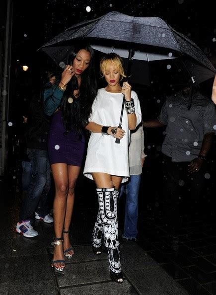 Rihanna And Forde by Rihanna Forde Photos Rihanna Goes Clubbing In