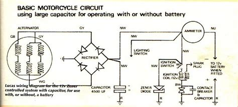 what does a diode do on a motorcycle biker bert s bike site