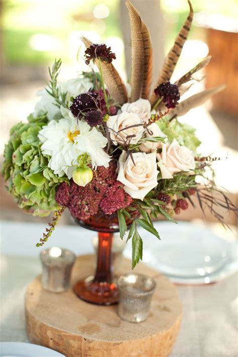 fall centerpieces with feathers 27 best pheasant feather arrangements images on pinterest