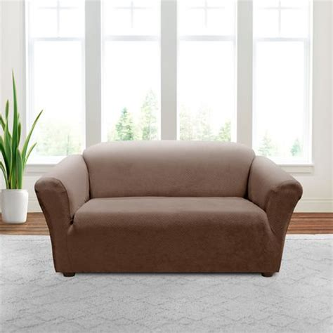 sure fit slipcovers canada sure fit annex stretch loveseat slipcover walmart canada