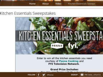 Fyi Sweepstakes - fyi kitchen essentials sweepstakes
