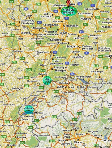 germany map 1980 summer 1982 trip to europe