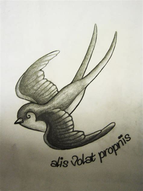 swallow tattoo design meaning on