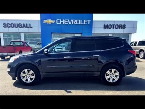 chevrolet traverse blue blue 2012 chevrolet traverse awd midsize suv at scougall