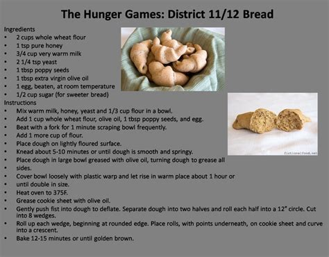 hunger games district themes the hunger games district 11 12 bread random recipes