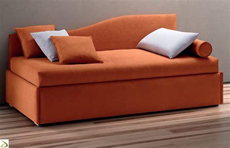 divano letto singolo economico letto sagomato con secondo letto pluto arredo design