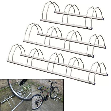5 Bike Floor Rack by Pedalpro Floor Wall Mount Galvanized Bicycle Storage Rack