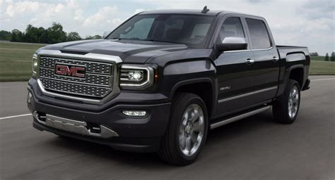 2016 GMC Sierra Truck Shows Its New Face