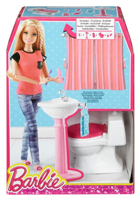 barbie doll bathroom barbie 174 bathroom set