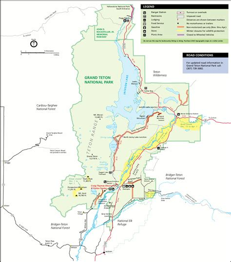 grand map park teton national park map adriftskateshop