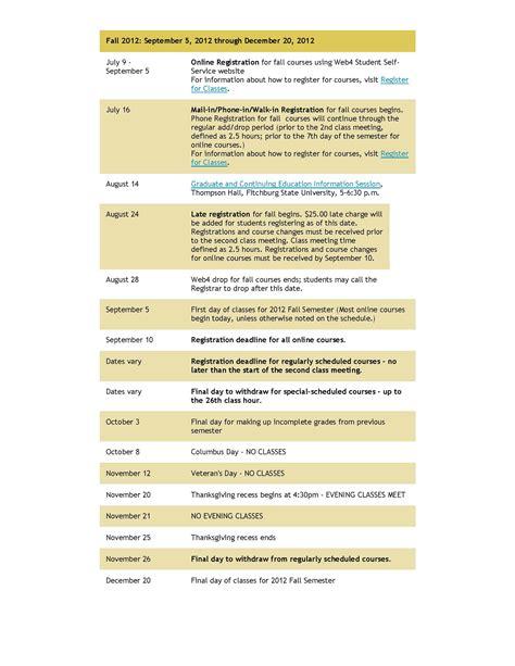Emmanuel College Academic Calendar Academics Policies Dates