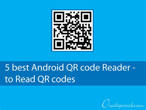 qr code reader for android 5 best android qr code readers to scan qr codes