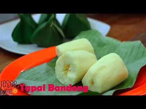 cara membuat risoles ubi cara membuat tapai ubi bandong singkong youtube