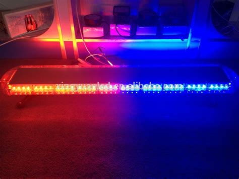 can volunteer firefighters have lights and sirens red blue led emergency signal light bar for police cars