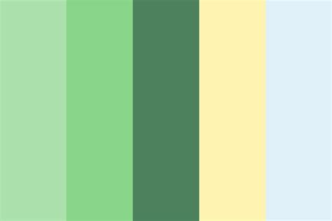 spring colors palette spring quiet color palette
