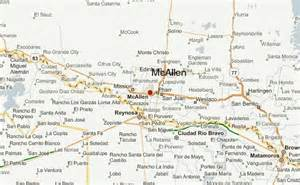 where is mcallen on the map mcallen location guide