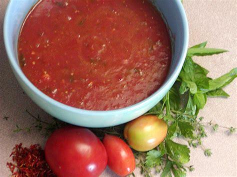 fresh tomato sauce recipe dishmaps