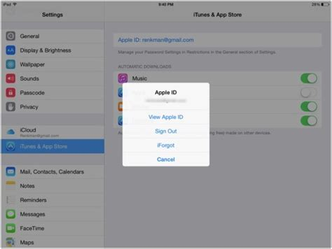 apple id sign up how to set up an apple id for your ipad ipad insight