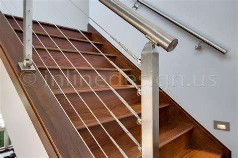 stainless steel banisters stainless steel cable stair railing www pixshark com