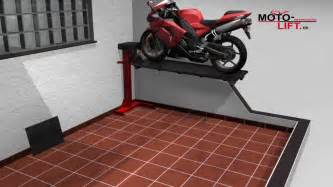 Garage Storage Lifts For Home Www Moto Lift De Motorcycle Lift Bikelift