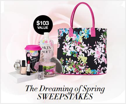 Spring Sweepstakes - avon dream of spring sweepstakes familysavings