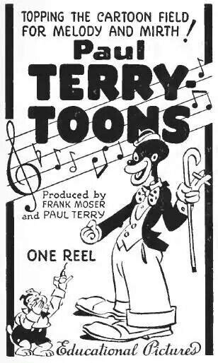 terrytoons the story of paul terry and his classic factory books paul terry terrytoons sambo comics