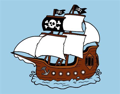 dibujos barcos de piratas dibujo de barco pirata pintado por jfrkffkkf en dibujos
