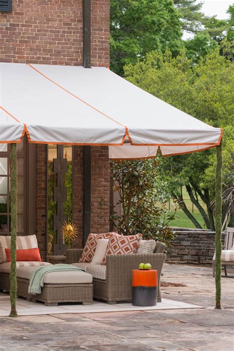 outdoor fabric awnings residential shade fabrics sunbrella fabrics