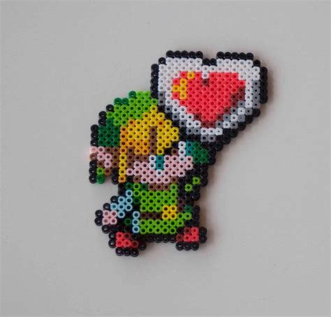 link perler bead the legend of link with perler bead creation