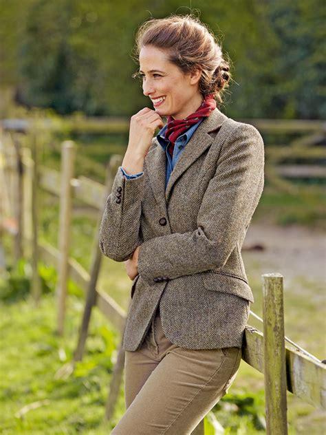 englischer garten jacken fischgrat blazer aus harris tweed g 252 nstig bestellen the