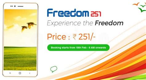 Bell Freedom 251 ringing bells freedom 251 specifications out and price 251