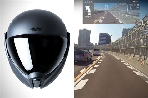 Motorradhelm Hud by Crosshelmet X1 Smart Hud Motorcycle Helmet Hiconsumption