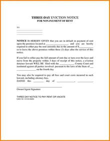 14 day eviction notice template 5 3 day notice to vacate form obituary template