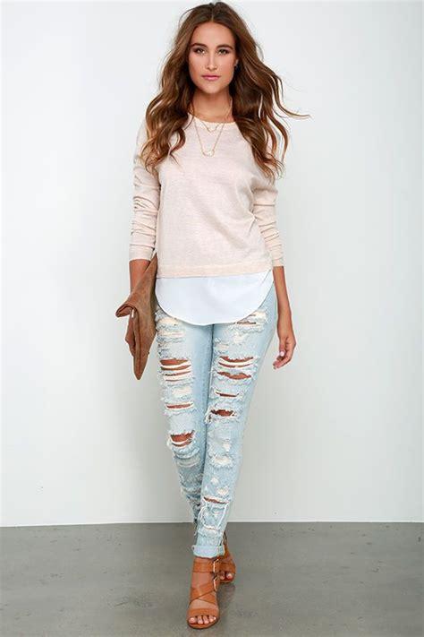 ideas para decorar jeans rotos outfits con jeans rotos 26 curso de organizacion del