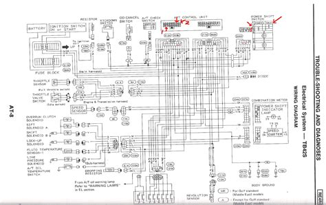 enchanting nissan automatic transmission wiring diagram