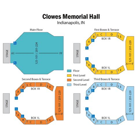 clowes memorial seating chart coach bob september 14 tickets indianapolis