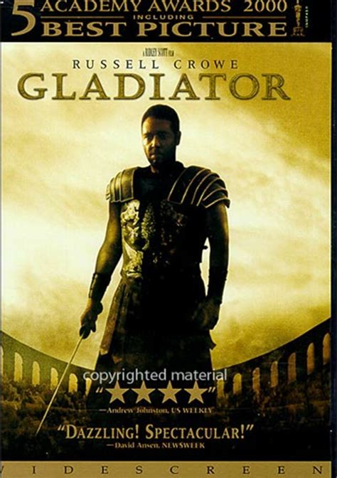 gladiator film rating gladiator dvd 2000 dvd empire