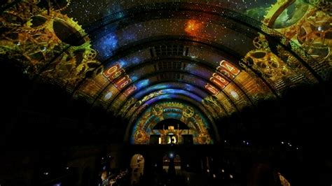 union station st louis light show technomedia designs stunning visual experience for the