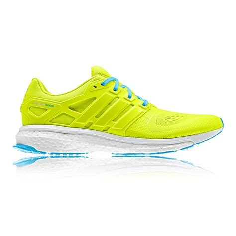 adidas road running shoes adidas energy boost esm mens yellow cushioned road running