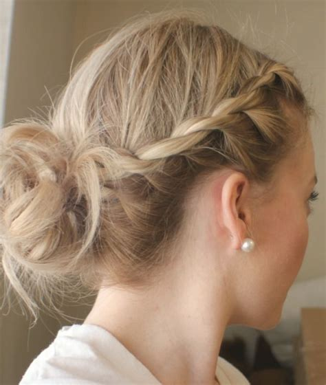 hairstyles that are twisted on one side and curly on the other 160 best hair how tos up dos images on pinterest hair