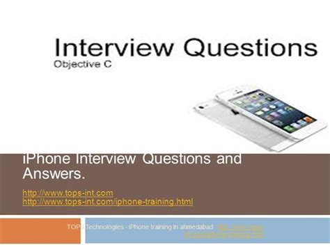 iphone question and answer for fresher authorstream