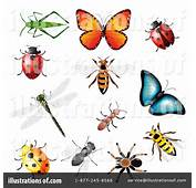Insects Clipart 1065614  Illustration By Vectorace